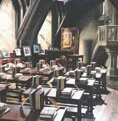 sala de hogwarts